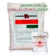 OFERTA ESPECIAL ABONO CÉSPED 10+1,6+10 +0,6% Fe (Promoción  Semilla Césped Especial para Sombra gratis + gastos de envío gratuitos*)