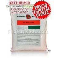 Abono Especial Césped 06+05+10+6%Fe 20kg.(Promoción Envío Gratis*)